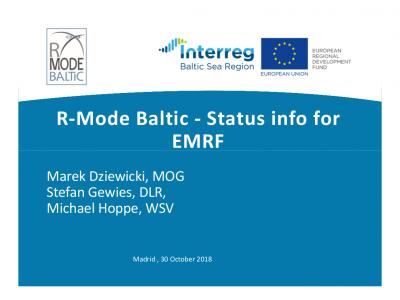 Dziewicki_2018_EMRF_R-Mode status info